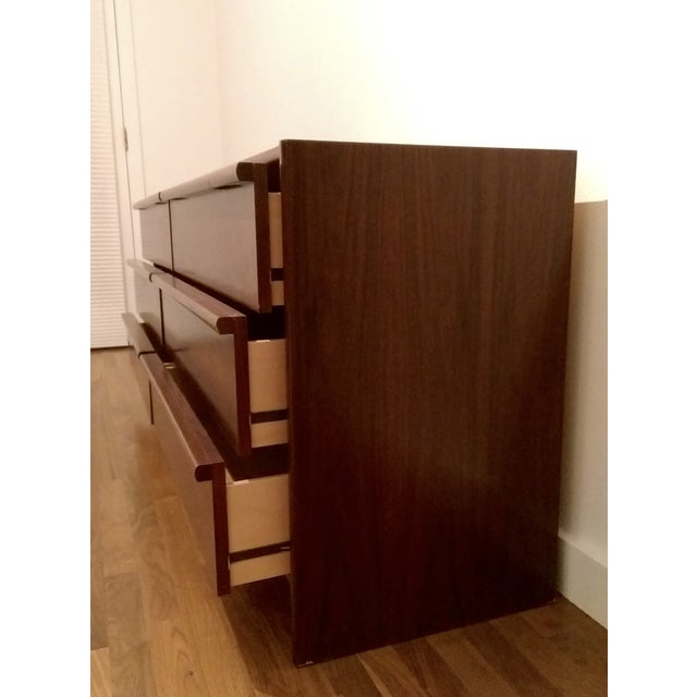 Mid-Century Modern 6-Drawer Rosewood Dresser From Belgium - Image 9 of 10