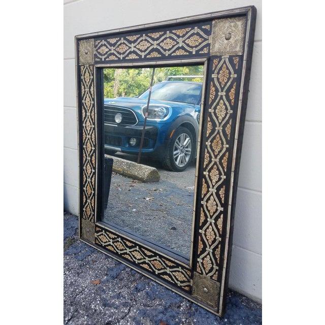 Moroccan Mamoun Bone Mirror - Marrakech For Sale - Image 4 of 6
