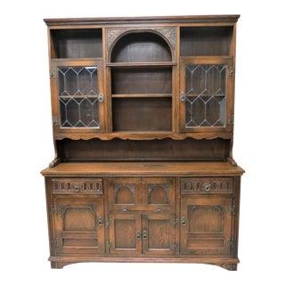 Vintage Wood Bros. Old Charm Furniture Cupboard For Sale
