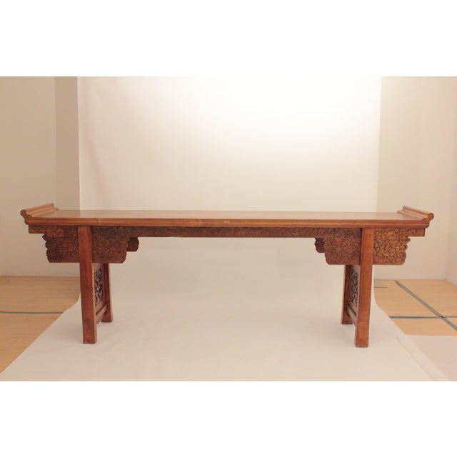 This antique Chinese altar table is one of my private collections and has  been appraised by - Antique Chinese Altar Table Chairish