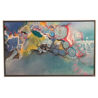 """Tanta DeStaffany Pennington """"In Search of Memory"""" Abstract Painting"""