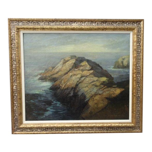 DeWitt Parshall Point Lobos Oil on Canvas - Image 1 of 10