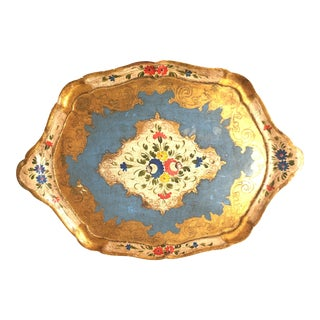 Antique Florentine Tray