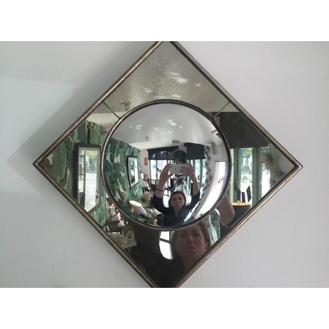 Silver Leaf Wall Mirrors- A Pair - Image 5 of 6