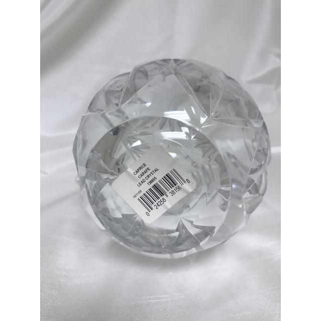 Transparent Waterford Caprice Lead Crystal Carafe For Sale - Image 8 of 10