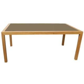 Birdseye Maple Table Desk For Sale
