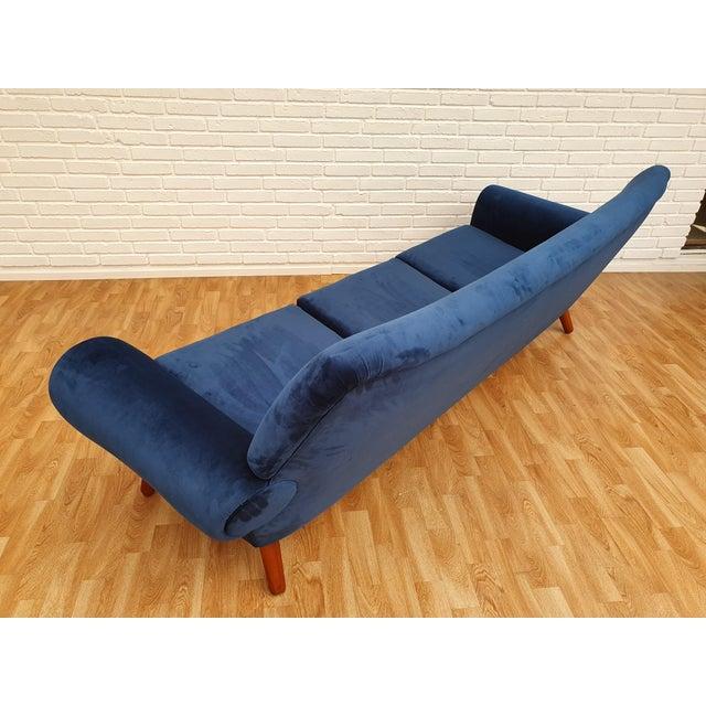 1960s Vintage Kurt Østervig Danish 3 Seater Sofa For Sale - Image 12 of 13
