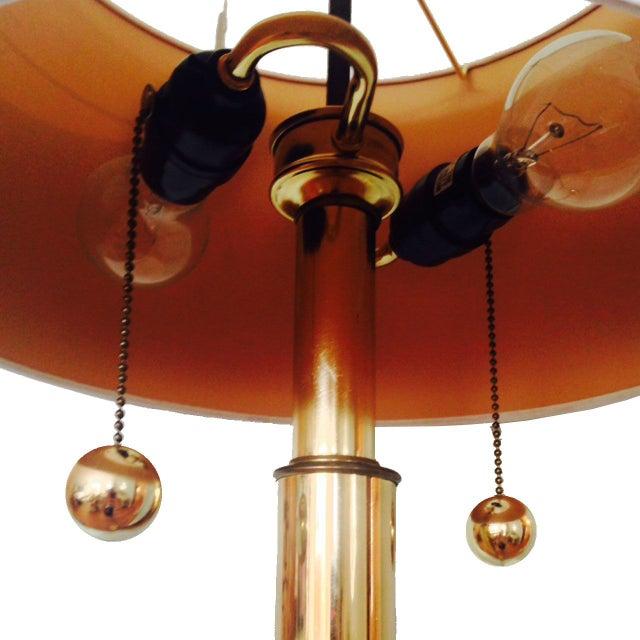 Vintage Kovacks Monumental Brass Floor Lamp - Image 2 of 2