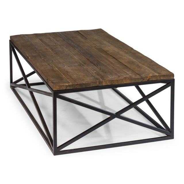 Sarreid Ltd. Sarreid Ltd Dockworker Board Coffee Table For Sale - Image 4 of 9