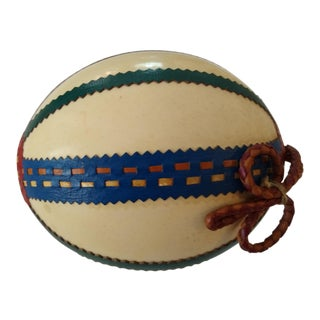 Decorated Ostrich Egg For Sale