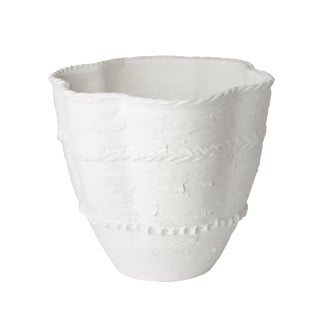 Pompeii Large White Planter
