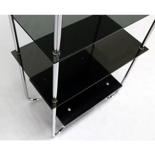 Midcentury Bauhaus Style Etagere For Sale In New York - Image 6 of 10