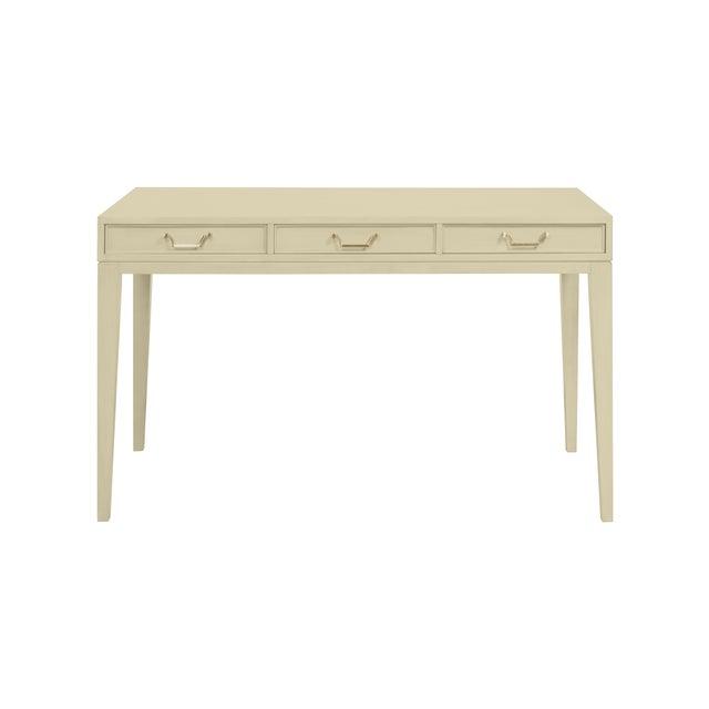 Traditional Casa Cosima Living Tilda Taper Leg Desk - Richmond Gray For Sale - Image 3 of 3