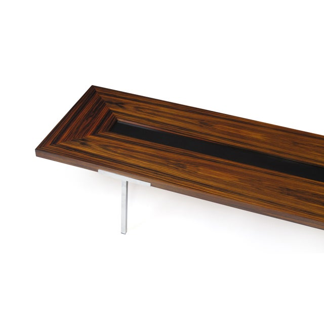 Santos Rosewood Coffee Table For Sale - Image 9 of 11