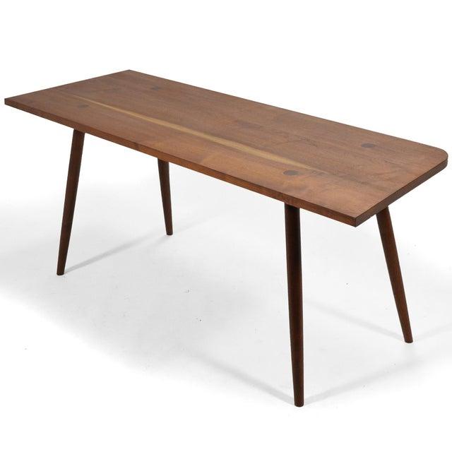 Robert Lovett Walnut Studio Craft Table/ Desk For Sale - Image 11 of 11