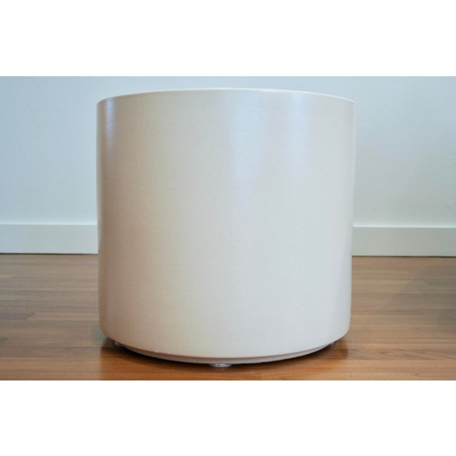 Tree Size Gainey Architectural Pottery Planter For Sale - Image 5 of 12