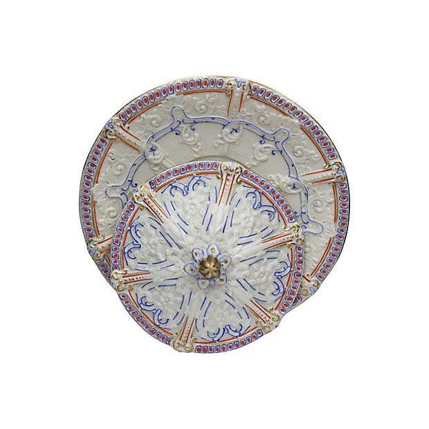 Antique Salt Glaze Covered Serving Dish For Sale - Image 4 of 6