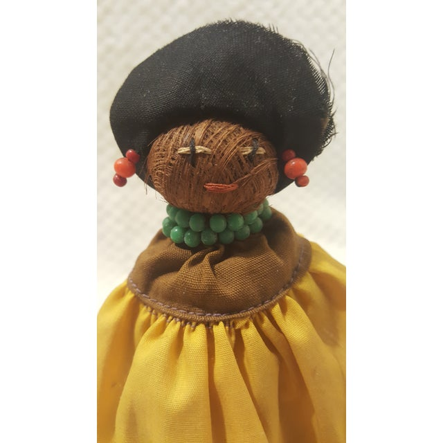 Vintage Seminole Indian Straw Doll For Sale - Image 4 of 5