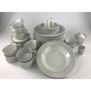 Danish Modern Fris Edom Cleopatra Pattern Dinnerware Set of 45 Preview