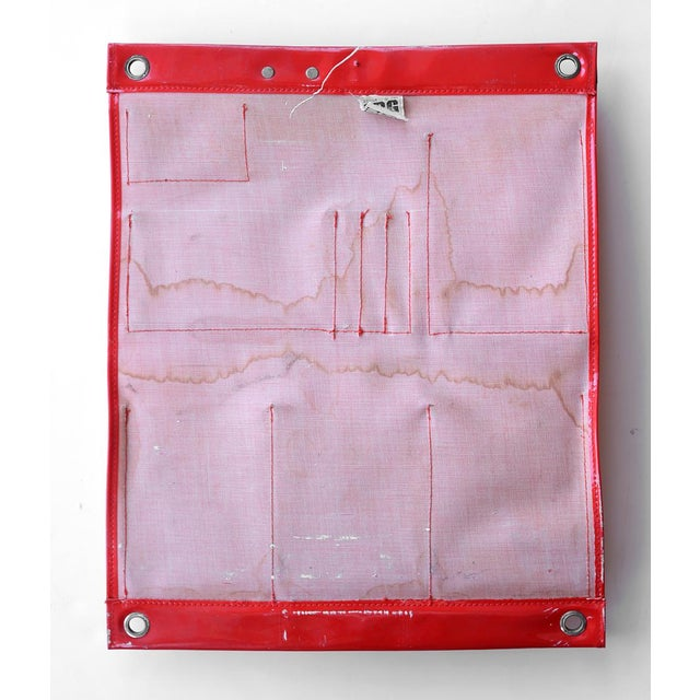 Vintage Modernist Wall Rubber Organizer - Image 4 of 6