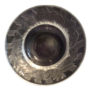 Lalique Crystal Pin Dish