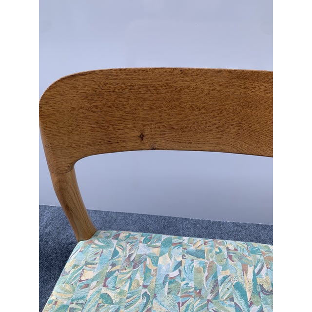 Wood 1960s Danish Side Chair by j.l. Moller for Højbjerg For Sale - Image 7 of 12