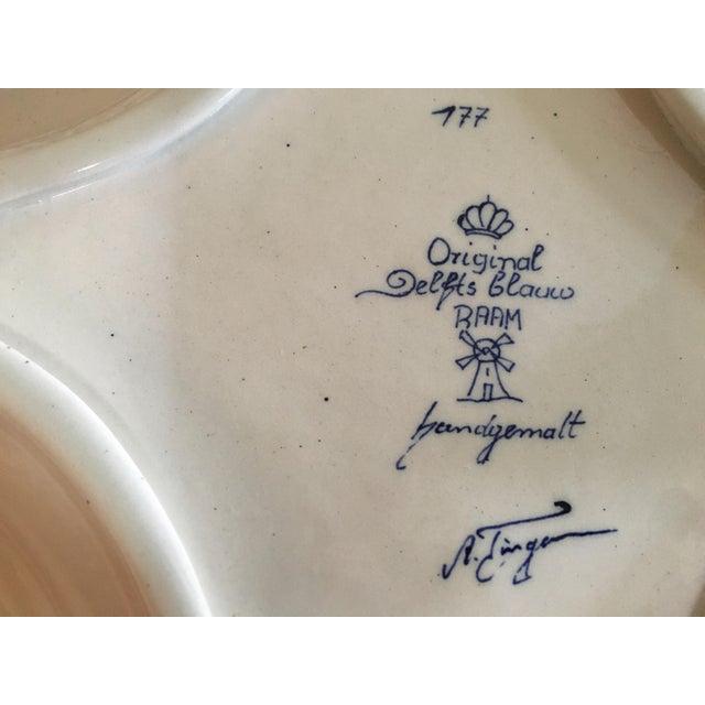 Delft Diamond Shaped Bowl - Image 4 of 6