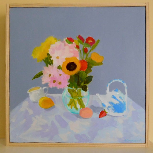 Anne Carrozza Remick Morning Table by Anne Carrozza Remick For Sale - Image 4 of 6