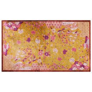 """1930s Chinese Art Wool Rug - 10'2""""x17'6"""""""