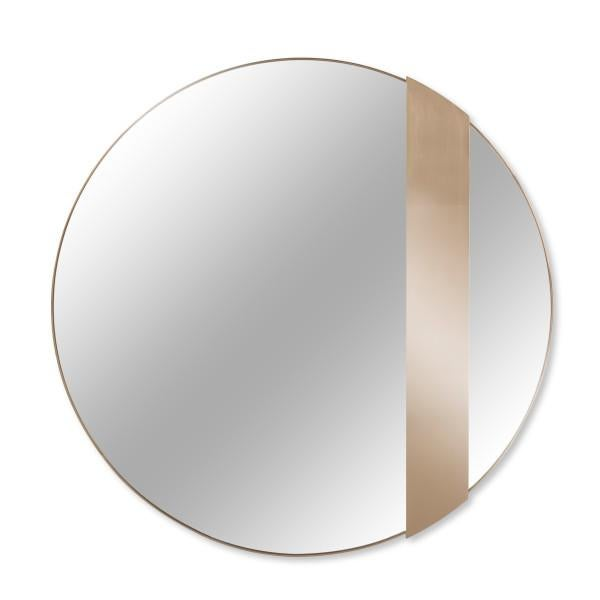 Titian Rose Gold Mirror For Sale - Image 4 of 4