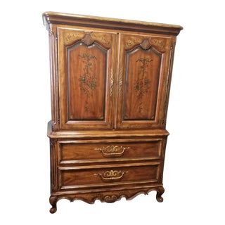Mid 20th Century Drexel Heritage Armoire For Sale