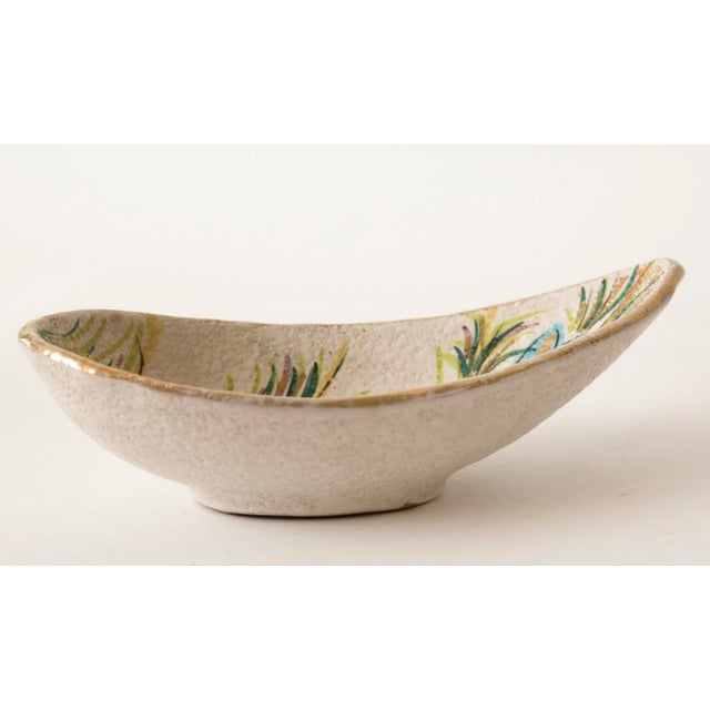 Fanciullacci / Londi Gilded Floral Bowl - Image 5 of 7
