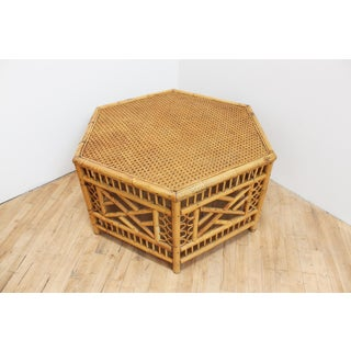 Vintage Hexagonal Brighton Pavilion Coffee Table- Chinese Chippendale Preview