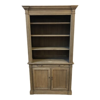Restoration Hardware Library Collection Single Bookcase For Sale