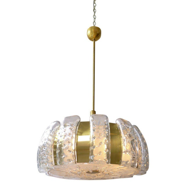 Mid-Century Ceiling Pendant by Doria For Sale In San Francisco - Image 6 of 6