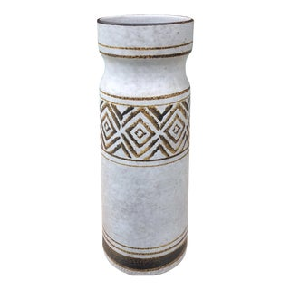 Vintage Pottery Craft Mid- Century Matte Vase