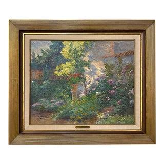 Framed Oil Painting on Canvas by Raymond Verstraeten (1874-1947) For Sale
