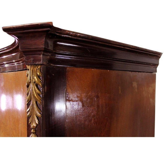 Louis XV Bronze Banded Armoire For Sale - Image 9 of 10