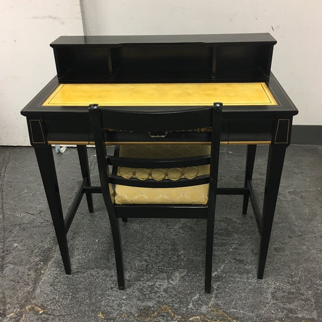 Vintage Secretary Desk & Chair - A Pair - Image 11 of 11
