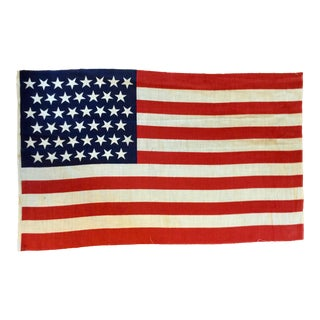 45 Star American Parade Flag For Sale