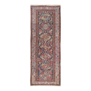 Vintage Malayer Hand Woven Runner 3'3 X 9' For Sale