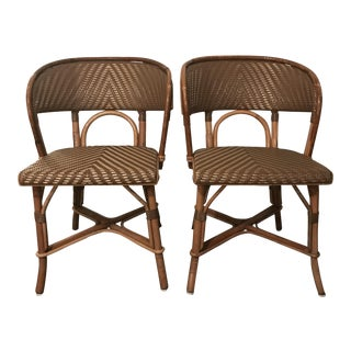 Authentic French Maison Gatti Bistro Chairs - a Pair