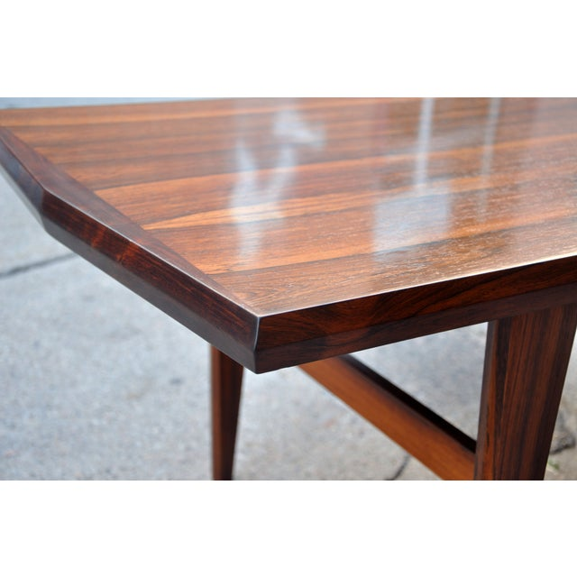 Mid-Century Danish Rosewood Coffee Table - Image 4 of 8