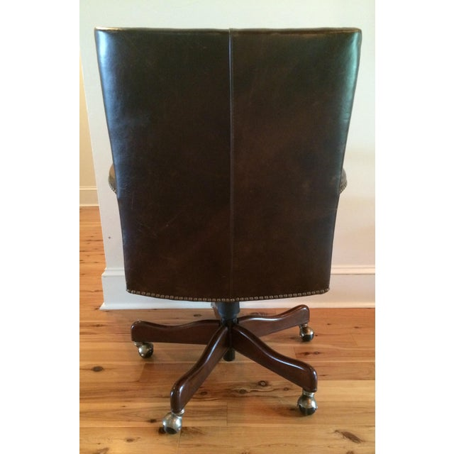 Traditional Hooker Furniture Wingate Executive Chair For Sale - Image 3 of 5