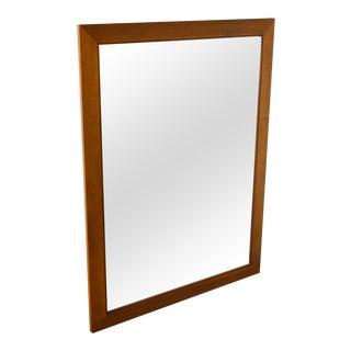 Stickley Cherry & Walnut Frame Wall Mirror