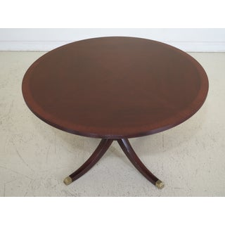 Traditional Henkel Harris Moore Round Mahogany Dining/Center Table Preview