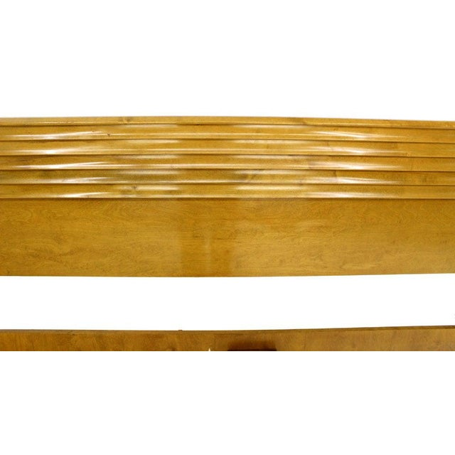 Edmond Spence Solid Birch Swedish King Size Headboard Bed For Sale - Image 6 of 11