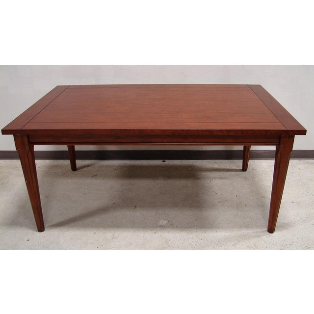 Broyhill Table with 2 Extension Leaves - Image 2 of 4