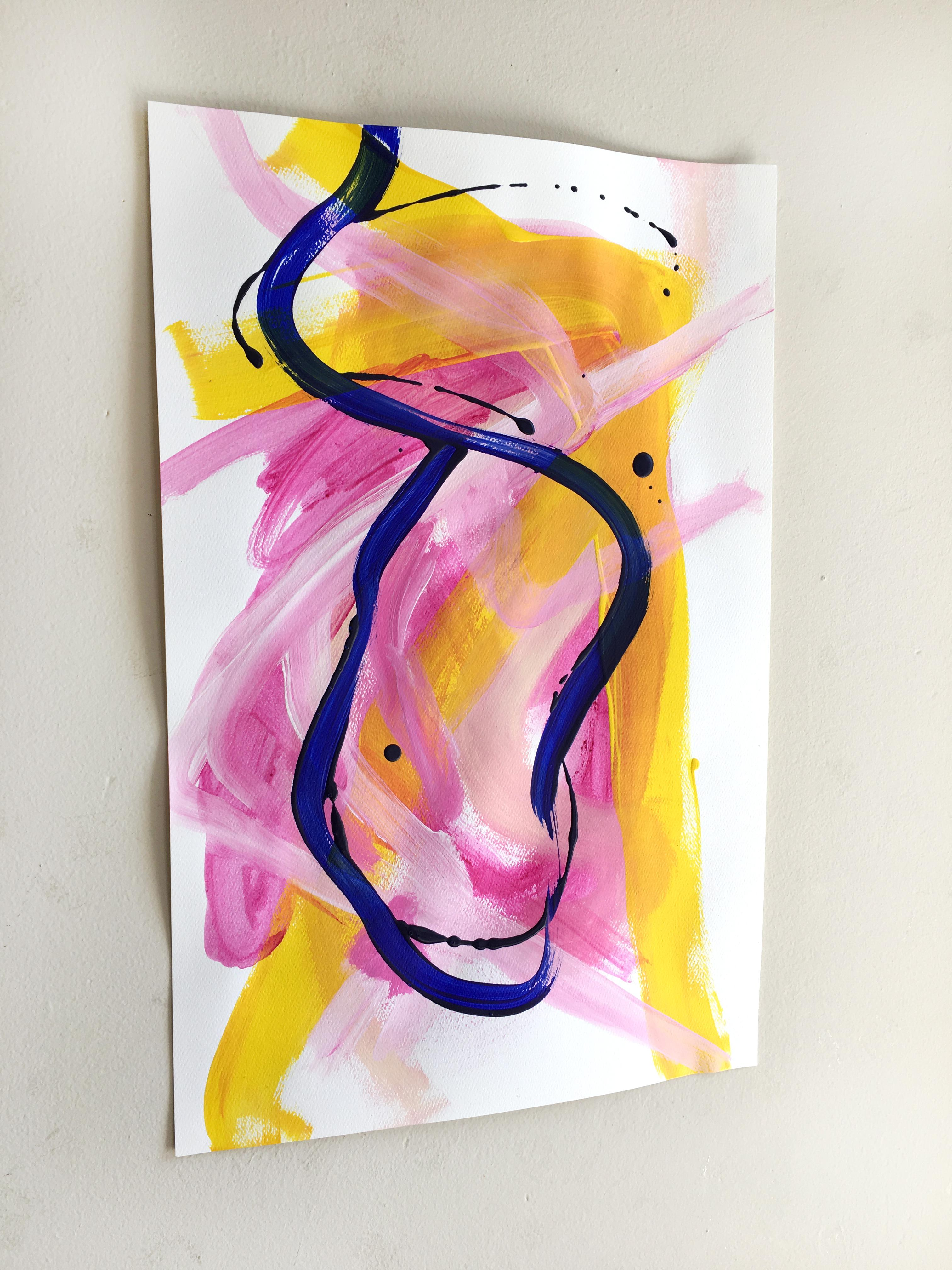 Day 105 Jessalin Beutler Original Painting On Paper   Image 2 Of 4