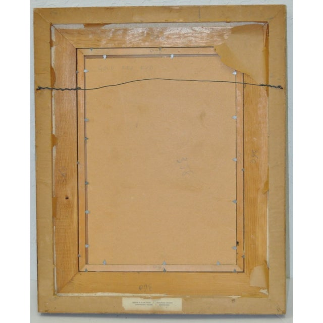 Serge Diakonoff Abstract Mixed Media Painting - Image 4 of 5